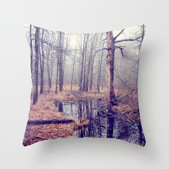 tread softly Throw Pillow