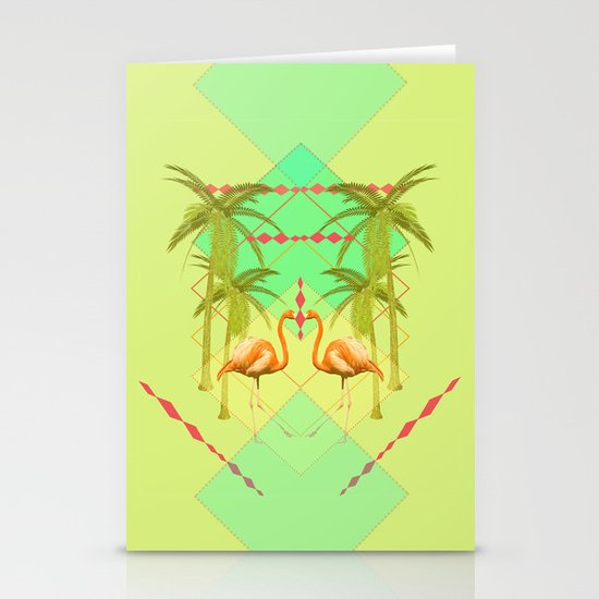 go flamingo, go ! Stationery Cards