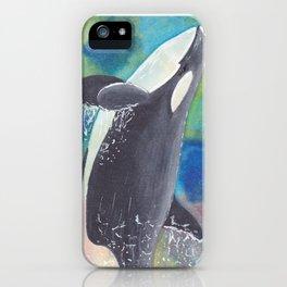 Breaching Orca iPhone Case