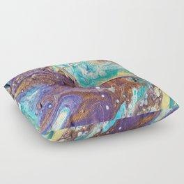 Copper Love Geode Floor Pillow