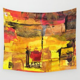 Abstract Street Wall Tapestry