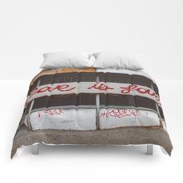 Love is Love Comforters