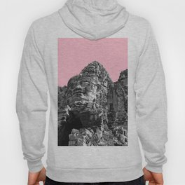 Part of Angkor Wat with pink Hoody