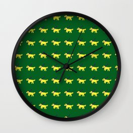 Scout Doodle Wall Clock