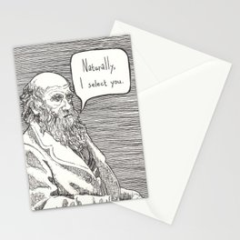 Naturally, I select you Stationery Cards