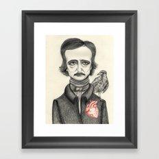 Allan Poe Framed Art Print