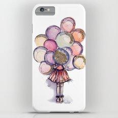 Float Away // Fashion Illustration Slim Case iPhone 6 Plus