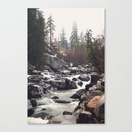 Morning Mountain Escape - Nature Photography Canvas Print