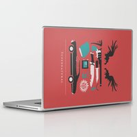 supernatural Laptop & iPad Skins featuring Supernatural by Abbie Imagine