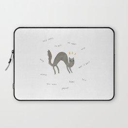 Scaredy Cat Laptop Sleeve