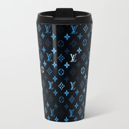 louisVuitton Blue black Travel Mug