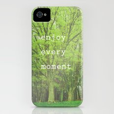 Enjoy Every Moment Slim Case iPhone (4, 4s)
