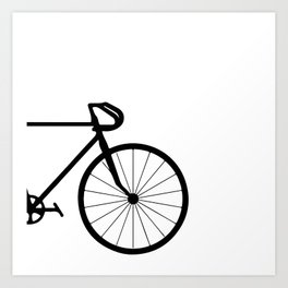 fixie bycicle Art Print
