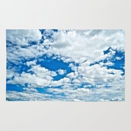Clouds in the Sky - The Peace Collection Rug