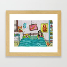 Bunk Buddies Framed Art Print