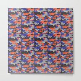 Camo pattern Metal Print