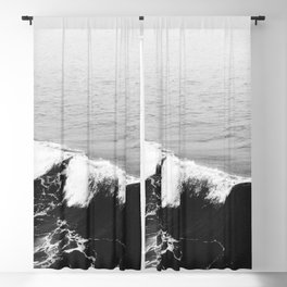 OCEAN WAVES Blackout Curtain