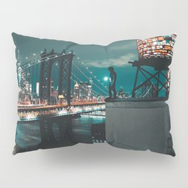 The Water Tower New York City (Color) Pillow Sham