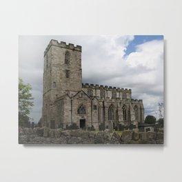 Breedon on the hill church Metal Print