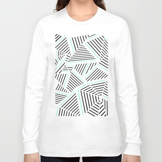 Ab Linear Zoom With Mint Long Sleeve T-shirt
