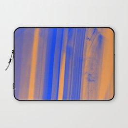 abstract blue orange Laptop Sleeve