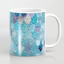 SUMMER MERMAID DARK TEAL Coffee Mug