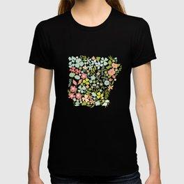 Arkansas Florals T-shirt