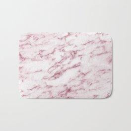 Contento rosa pink marble Bath Mat