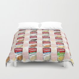 Campbell's Soup Duvet Cover