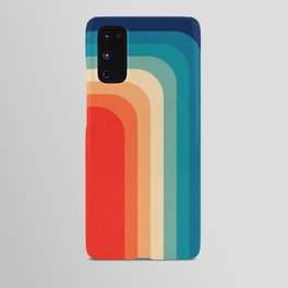 Retro 70s Color Palette III Android Case