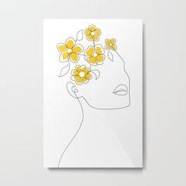 Sunny Spring Mind Metal Print