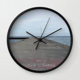 no diving Wall Clock