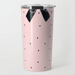 Black Tie Affair: Pink Travel Mug