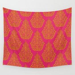 SPIRIT pink satsuma Wall Tapestry