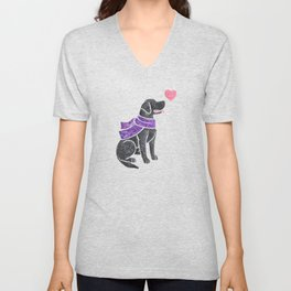 Watercolour Labrador Retriever Unisex V-Neck
