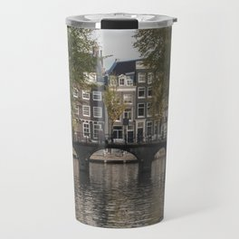 The Canals of Amsterdam Travel Mug