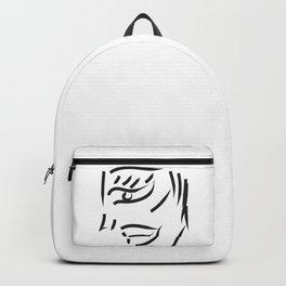 profile minimal sketch Backpack