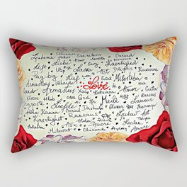 Love injected Rectangular Pillow