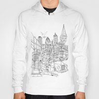 london Hoodies featuring London! by David Bushell