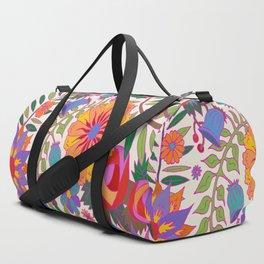 Just Flowers Lite Duffle Bag