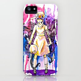 I'm stronger than my fears.  iPhone Case