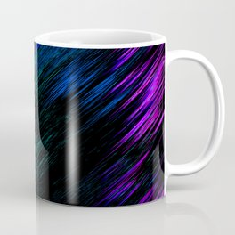Pink and Blue Steaks Coffee Mug