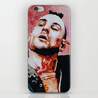 taxi driver iPhone & iPod Skins featuring Taxi driver by BaconFactory