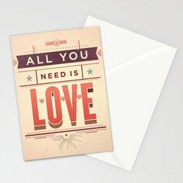 Love, love, love Stationery Cards