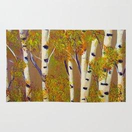 Birch trees-3 Rug