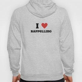 I Love Rappelling Hoody