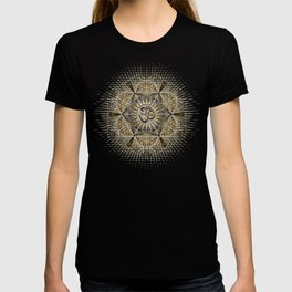 Bohemian Yoga Om Geometry T-shirt