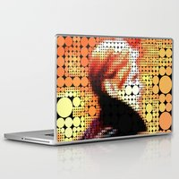 "david bowie Laptop & iPad Skins featuring David Bowie ""Low"" by Louis Loizou"