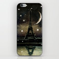 Paris Midnight iPhone & iPod Skin