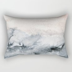 pastel landscape Rectangular Pillow